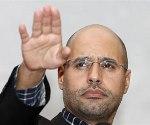 Saif al Islam Gaddafi. 2011. Starmedia.com. Ap.