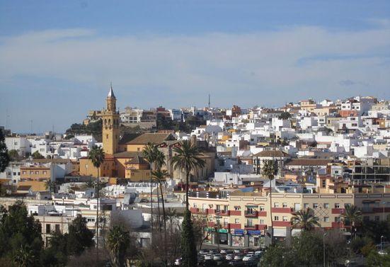 Vista general de Alcalá de Guadaíra (Sevilla). Wikipedia.org. Foto: Cristina Borge Amador.