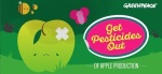 Greenpeace denuncia la presencia de fungicidas en manzanas europeas conve Oct. 2015. Greenpeace.