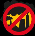 Logo. No a la Icineración de residuos en Los Alcores. Noincineracionbasuralosalcores.blogspot.com.es.