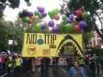 Manifestación 'No al TTIP'. Madrid, 17 oct. 2015. Greenpeace.org.