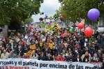 Manifestación 'No a la pobreza, no al TTIP'. Madrid, 17 oct. 2015. Greenpeace.org.