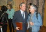 Mayor Zaragoza posa con el autor de este blog. León, 16 oct. 2015.