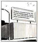 Viñeta. 'Todo el mundo tiene derecho a rebelarse siempre que cuente con la debida autorización'. 2012. Tbeoesfera.com. Autor El Roto.