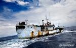 Una vetusta embarcación dedicada a la pesca del atún. Greenpeace.org. Foto: Paul Hilton,