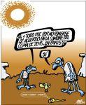 'Y todo fue por no ponerse de acuerdo en la cumbre de París'. 13 nov. 2015. Elpais.com, Autor Forges.