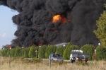 Incendio de la planta de neumáticos usados y cableado. Ardoncino, 27 jul. 2015. Ileon.com. Foto: Carlos S. Campillo.