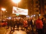 Pancarta de Ecobierzo exigiendo trasparencia a Gersu.. Ponferrada, 27 dic. 2010. Foto: Enrique L. Manzano.