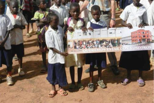 Colaboración del IESVE con las Escuelas Rurales de Kilela Balanda. 2013.