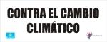 Contra el cambio climático. Pancarta de Ecobierzo y El Eco del Bierzo. Ponferrada, 21 sept. 2014. Unecologistaenelbierzo.wordpress.com.