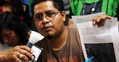El medioambientalista vilmente asesinado, Bernardo Vázquez Sánchez. Fuente: aztecanoticias.com.