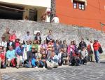 Excursión con el IEB a El Rincón Cunqueiru en Trabao.Asturias. Foto: Francisco Árias.