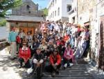 Excursión con el IEB a El Rincón Cunqueiru. Trabao (Asturias). 26 sept. 2010. Foto: Francisco Arias.