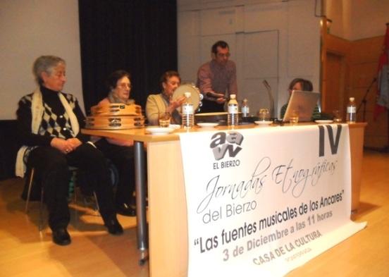 IV Jornadas Etnográficas. Ponferrada, 3 dic. 2011. Foto: Enrique L. Manzano.