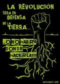 La revolución será en defensa de la tierra... o no habrá donde hacerla'. Tomalatierra.org.