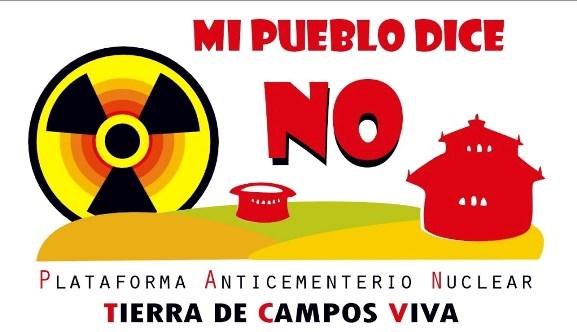 Logo. 'Mi pueblo dice NO al ATC'. 2010.