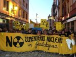 Manifestación antinuclear en Guadalajara. 2010. Pintegrado4bhuarte.blogspot.com.es.