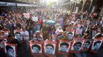 Manifestación en Guadalajara para exigir justicia para los estudiantes desaparecidos. 2015. Bbc.com.