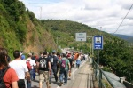Marcha de apoyo a la minería en las inmediaciones de San Román de Bembibre, en El Bierzo. Jun. 2012. Elecodelbierzo.com.