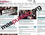 Maspublico.org busca financiación para un proyecto autogestionado. Fuente: Rebelaos.