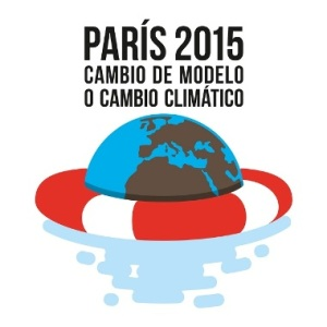 Viñeta. 'Cambio de modelo o cambio climático. París 2015.