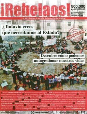 Portada en castellano de 'Rebelaos'. 15 marzo 2012.