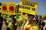 'Garona cierre ya'. Protesta de greenpeace para exigir el cierre definitivo de Garoña. Greenpeace.org.