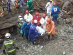Imágen de un trágico accidente minero en Colombia. Fudiascocolombia.es.