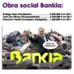 Lo que cobraron el año pasado algunos de los principales responsables de Bankia.
