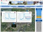 Picos de dióxido de azufre registrados en la zona de Oviedo (Asturias). 20 enero 2016. ACA.