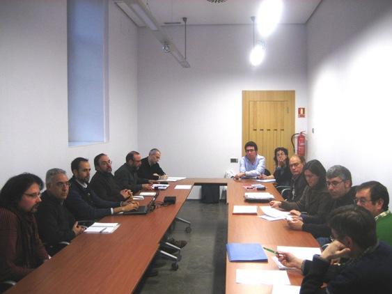 Reunión regional de Fiare en León. 17marzo 2011. Foto: FiareCyl