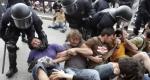 Una imagen de la carga policial. Barcelona, 27may2011. Antena3.com.