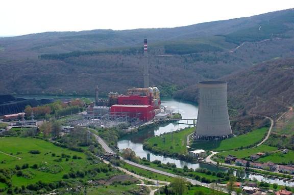 La central térmica de Velilla en Guardo (Palencia). 2013. Ultimocero.com.