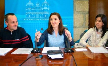 La concejala de Acción Social, Isabel Báílez, durante la presentación de la Red del Tiempo. 9 abril 2013. Bierzotv.com.