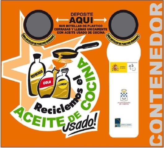 Logo. Campaña de recogida del aceite usado doméstico en Fabero. 22 febr. 2011. Unecologistaenelbierzo.wordpress.com.