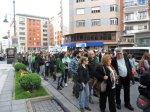 La manifestación a su paso por la av. Pérez Colino. Ponferrada, 9 mayo 2013. Foto: Enrique L. Manzano.