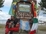 Mauro Talini en Ushuaia (Argentina). Lsdpnoticias.com.