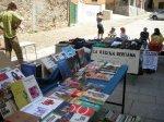 Mercado del Trueque de 'La Redina Berciana' en la plaza de los Culos. Ponferrada, 6 jun. 2010. Foto: Enrique L. Manzano.