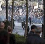 Protestas multitudinarias en Grecia.