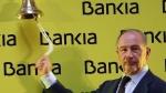 Rodrigo Rato durante la salida a Bolsa de Bankia en 2011. Abc.es. Foto: Ernesto Agudo.