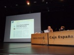 'Sostenibilidad en la sanidad pública'. Ponferrada, 11 oct. 2011. Foto: Enrique L. Manzano.