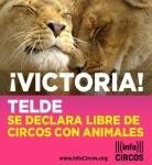 Telde prohibe los circos con animales. 29 enero 2016. Infocircos.org.