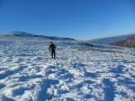 Este ha sido un año casi sin nieves en El Bierz. El Morredero, enero 2012.