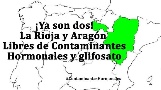 La Rioja y Aragón libres de Glifosato. 2016. Libresdecontaminanteshormonales.w