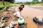 Agua contamionada. Sólo en diarreas evitables se pierden millones de horas de trabajo cada año. 2012. Ecoclimatico.com.