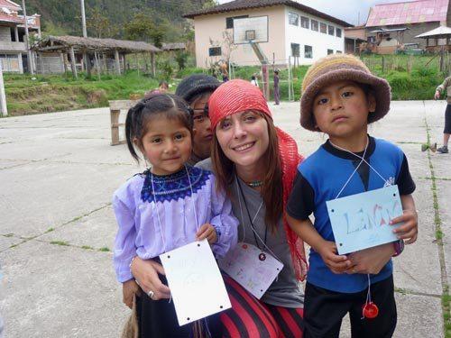 Voluntariado en Ecuador. Julio, 2010. Fuente: Aipcpandora.org.