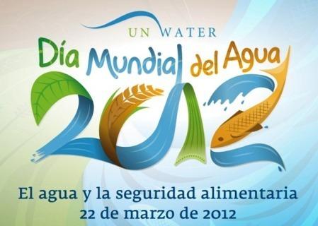 Logo del Día Mundial del Agua, 2012. ONU.