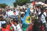 Protesta contra el asesinato del joven campesino Cristian Ferreyra. 25 nov. 2011. Llamaralascosasporsunombre.blogspot.com.es.
