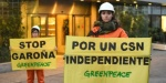 Protesta de Greenpeace por un CSN independiente. 2016. Greenpeace.org.