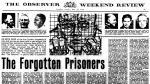 El artículo que dio nacimiento a Amnistía Internacional. 'The Forgotten Prisoners'. The Observer Newspaper, 28 mayo 1961 © Amnesty.
